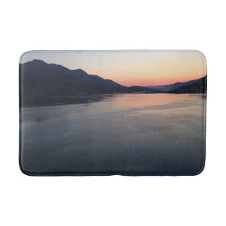 Alaska Sunset Inland Passage Bathroom Mat