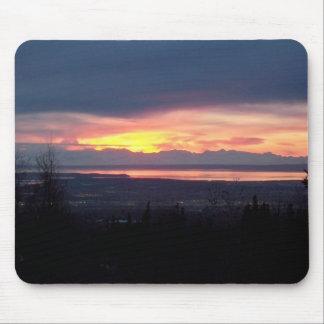 Alaska Sunset Mousepad