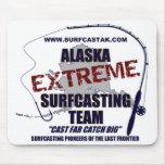 Alaska Surfcasting Team Mouse Pad