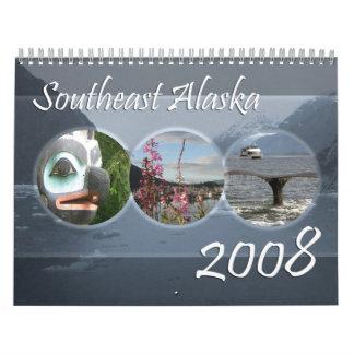 Alaska suroriental, 2008 calendario de pared