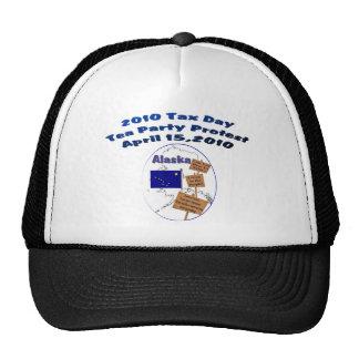 Alaska Tax Day Tea Party Protest Baseball Cap Trucker Hat