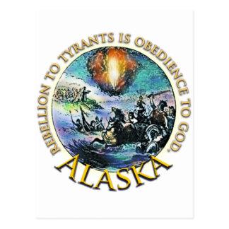 Alaska Tea Party Postcard