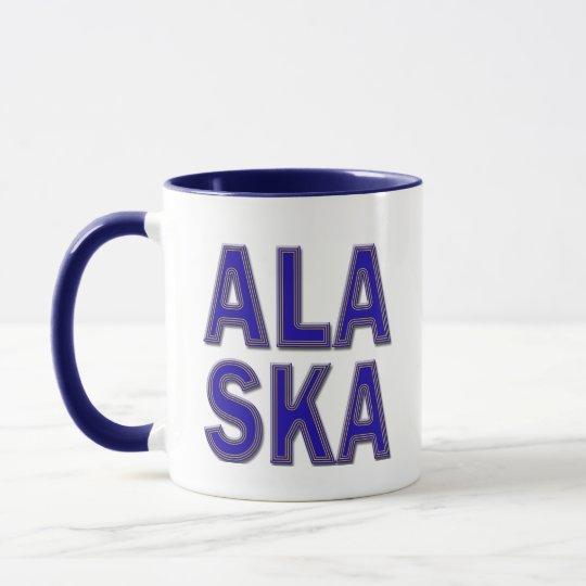 ALASKA - TEXT MUG