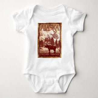 Alaska - the last frontier baby bodysuit