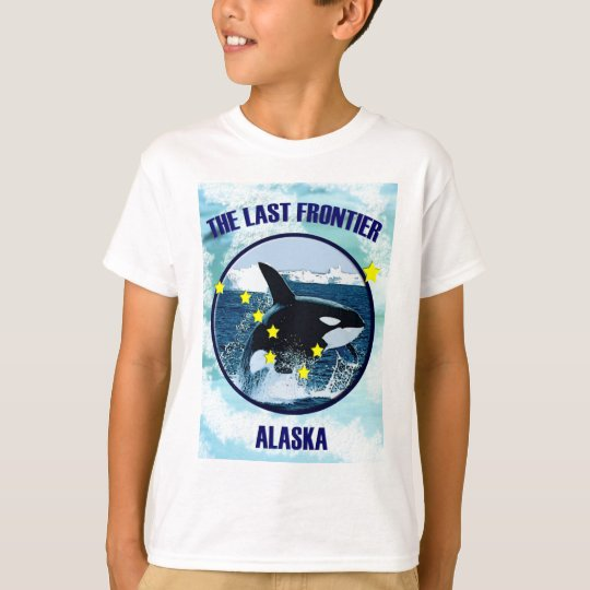 Alaska - The Last Frontier.png T-Shirt