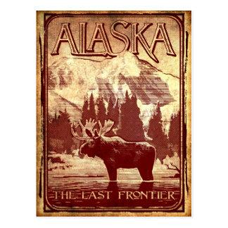 Alaska - the last frontier postcard