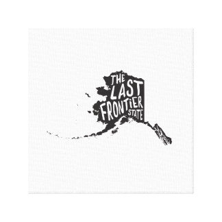 Alaska: The Last Frontier State Canvas Print