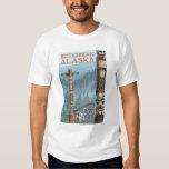 Alaska Totem Poles - Ketchikan, Alaska T Shirt