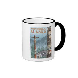 Alaska Totem Poles - Wrangell Alaska Mug