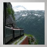 Alaska Train Adventure Print