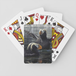 Alaska Tufted puffins Playing Cards
