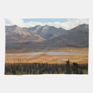 Alaska Tundra Hand Towel