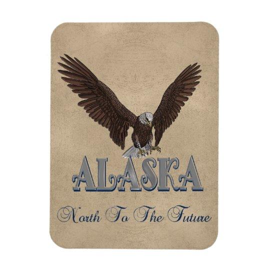 Alaska USA Bald Eagle Flexible Magnet