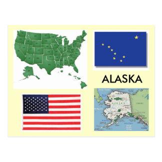 Alaska, USA Postcard