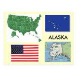 Alaska, USA Postcards