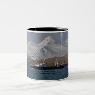 Alaska Victory, F. C. A. Factory Trawler Two-Tone Coffee Mug