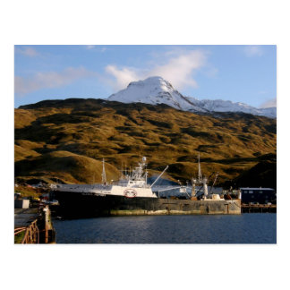 Alaska Victory, Trawler in Dutch Harbor, Alaska Postcard