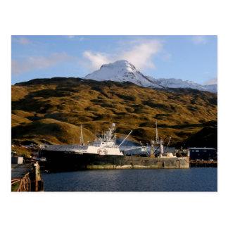 Alaska Victory, Trawler in Dutch Harbor, Alaska Postcard