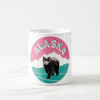 Alaska Vintage Travel Poster Coffee Mug