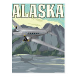 Alaska Vintage Travel Poster Postcards