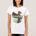 Alaska Vintage Travel Poster T-Shirt