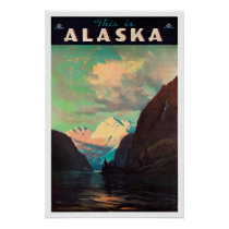 Alaska - Vintage Travel Posters