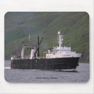 Alaska Warrior, F. C. A. Trawler in Dutch Harbor Mouse Pad