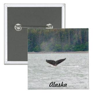 Alaska Whale Tail Buttons