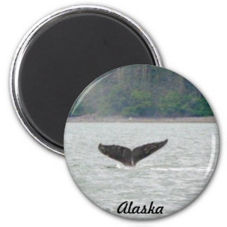 Alaska Whale Tail Magnet