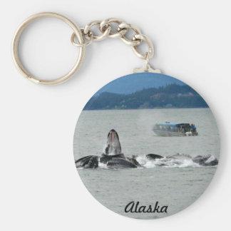 Alaska Whales Keychain