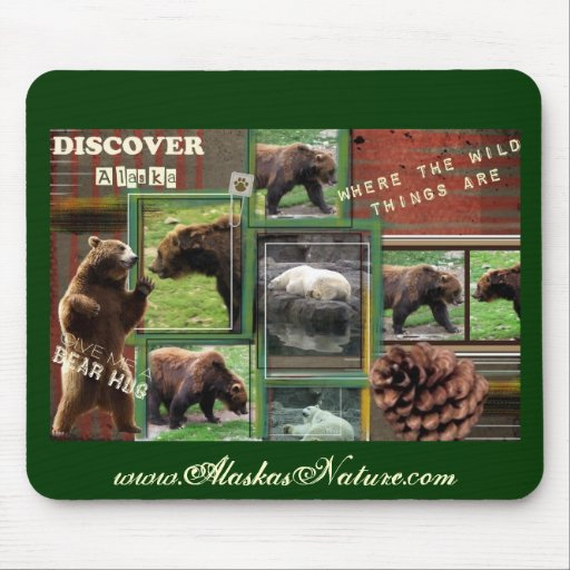 Alaska-Where The Wild Things Are Mouse Pad
