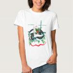 Alaska Whimsical Christmas Wildlife Tee Shirt