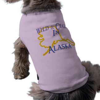 Alaska - Wild and Crazy Dog Tshirt