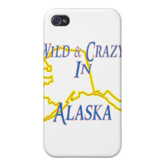 Alaska - Wild and Crazy iPhone 4 Cover