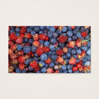 Alaska Wild Berries Fruits Business Card