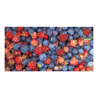 Alaska Wild Berries Fruits Card
