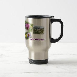 Alaska Wildflowers I Travel Mug