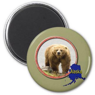 Alaska Wildlife Magnet