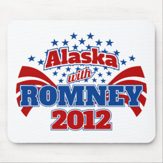 Alaska with Romney 2012 Mouse Pad