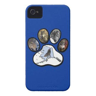Alaska Wolf Paw iPhone 4 Cases