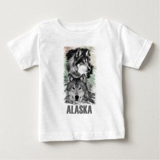 Alaska - Wolves.png Baby T-Shirt