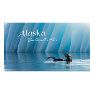 Alaska-You Otter Be Here Business Card