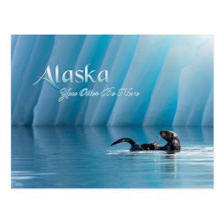 Alaska-You Otter Be Here Postcard