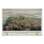 Alaska-Yukon-Pacific Exposition 1909 Poster