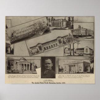 Alaska-Yukon Pacific Exposition, Seattle, 1909 Poster