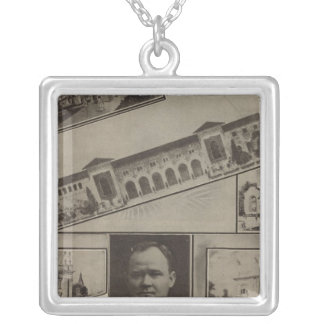 Alaska-Yukon Pacific Exposition, Seattle, 1909 Silver Plated Necklace
