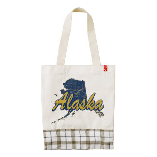 Alaska Zazzle HEART Tote Bag
