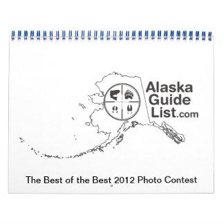 AlaskaGuideList 2012 Photo Contest Calendar