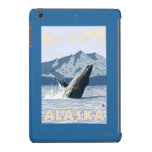 AlaskaHumpback Whale Vintage Travel Poster iPad Mini Retina Cases