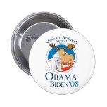 Alaskan Animals for Obama Button